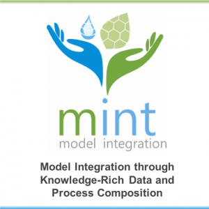 MINT: Model Integration through Knowledge-Rich Data and Process Composition